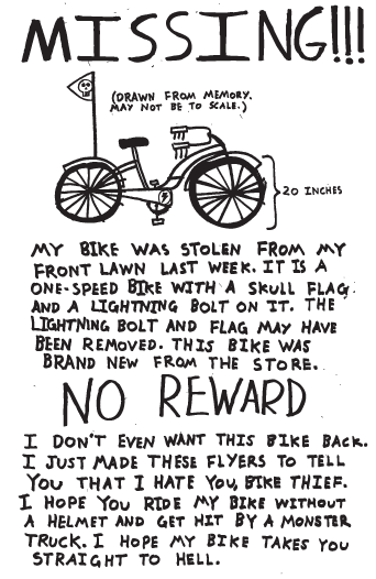 I Hope My bike Takes You Straight To Hell
