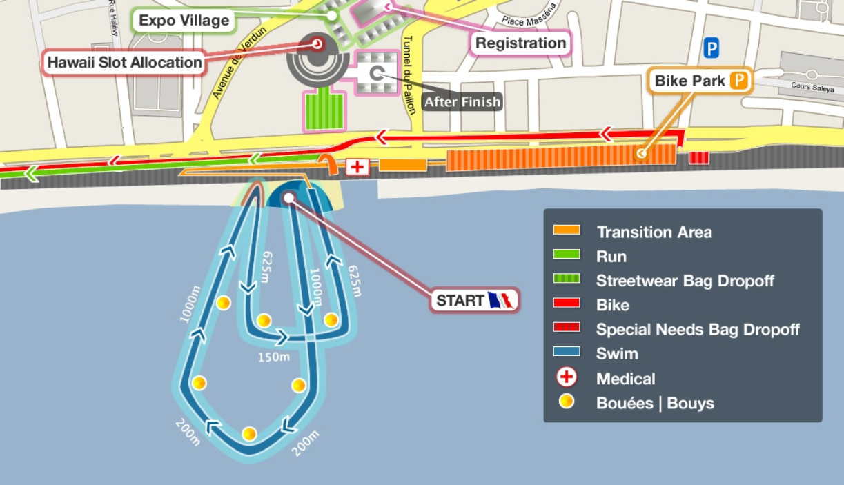 Ironman France: Swim 2.4 Miles!