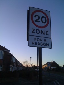 Whitley Bay's 20mph Zones