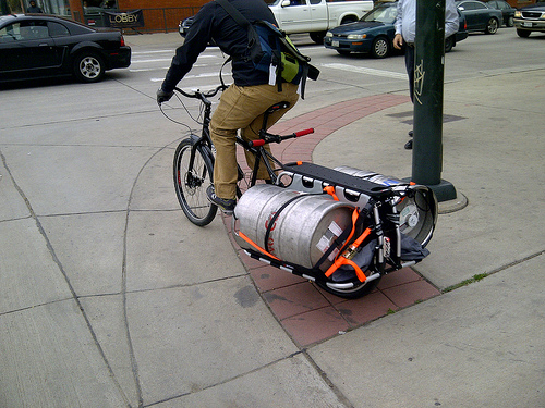 Friday Caption Contest: Beer Delivery Bike