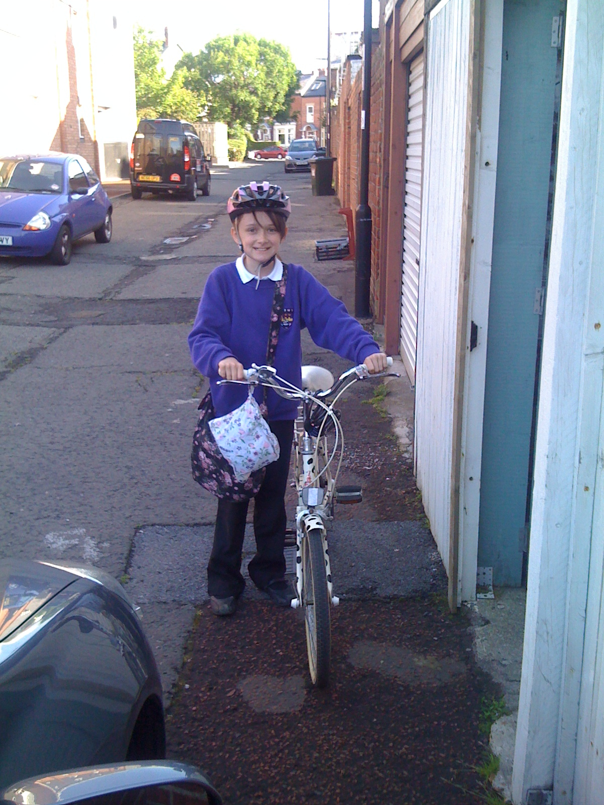My Cycle Chic Daughter