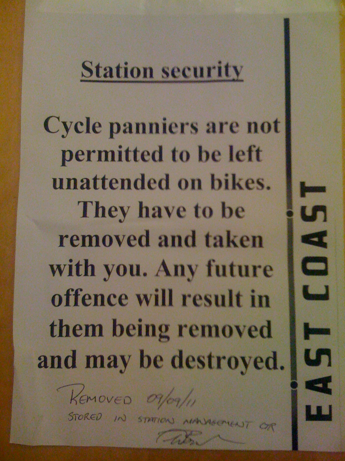 Leave Your Bike. Not Your Luggage.