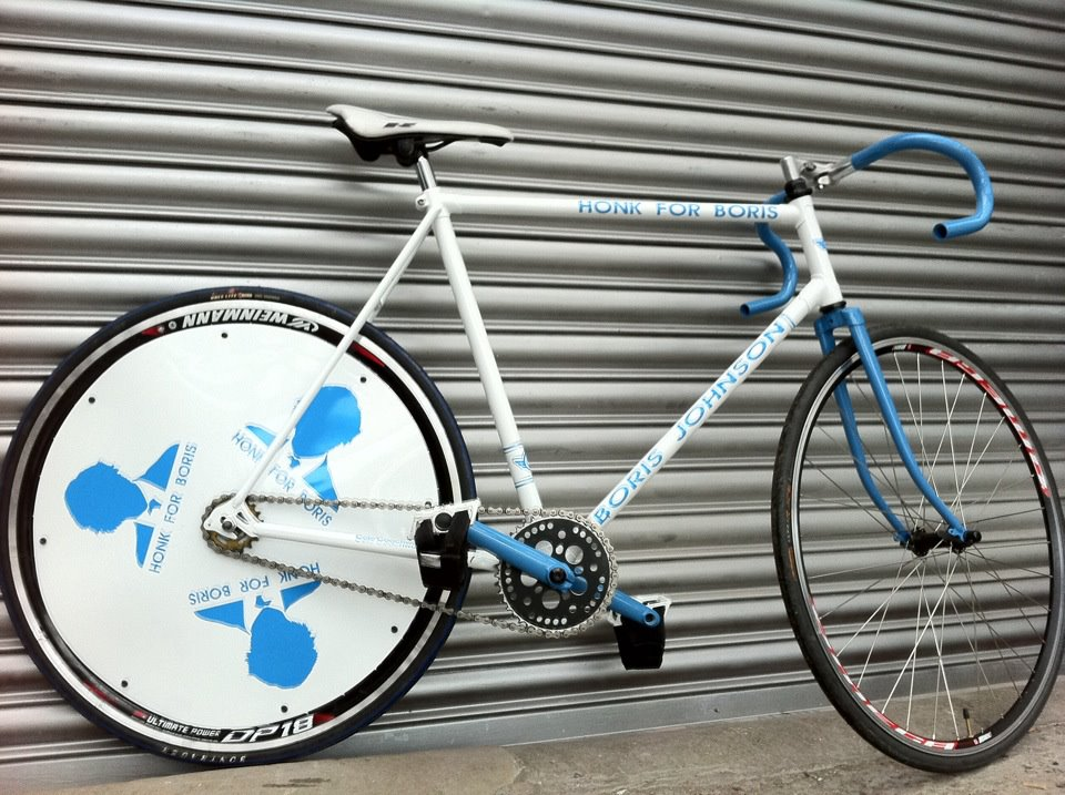 Boris&#8217; Campaign Bike